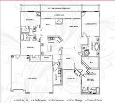 rancho mesa estates 3035 sf floor plan