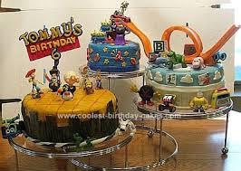 First Birthday Cake Andyroom Story Birthday Cake