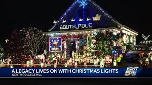 College Hill Christmas Lights North College Hill House Holiday Lights Attract Worldwide Visitors