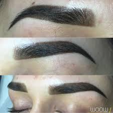 перманентный макияж бровей фото сразу после процедуры после