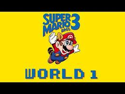 Super Mario Bros 3 – World 1 – Eaton Media Group