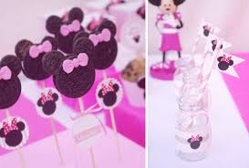 kara s party ideas disney minnie mouse girl pink 2nd birthday party planning ideas