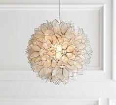 capiz pendant pottery barn capiz light fixture