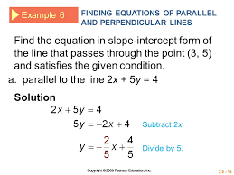 a parallel to the line 2x 5y 4