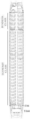 Egyptair Seating Chart Egyptair Fleet Details
