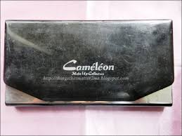 cameleon makeup collection 24 color eyeshadow palette swatches