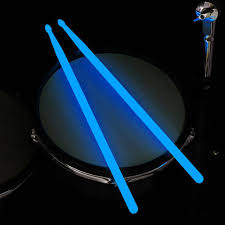 Light Up Drum Us 8 75 39 Off Luminous Drumsticks Bright Drum Stick Bright Led Light Up Drumsticks Luminous In The Dark Stage Jazz Drumsticks Reuse Drum Kit In