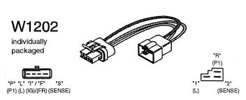 cs130 alternator wiring resistor cs130 image w1202 wiring adapter harness 3 pin si plug to 4 pin cs plug no on cs130