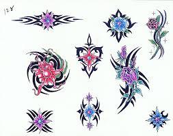 Motiv Tetování Kytky 504