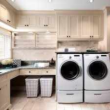 Washer Dryer Cabinet glamorous laundry hamper with lid in laundry room traditional with 7394 by uwakikaiketsu.us