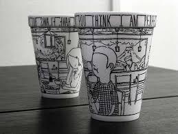 ... Coffee Mug Artistic Teacher Tazas Ceramic Tumbler Caneca Tea Cups ·  Custom ...