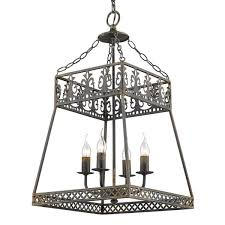 golden lighting tudor 4 light antique