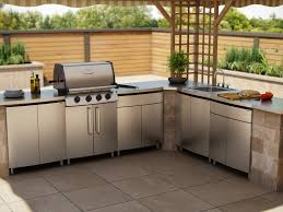 Bbq Outdoor Kitchen Kits Kitchen 3 Impressive Decoration Stainless Steel Outdoor Kitchen