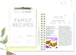 Microsoft Recipes Microsoft Recipe Book Template Minimalist Printable Lovely