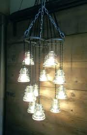 insulator lamps antique glass insulators pendant lighting in addition to horse shoe chandelier light for your