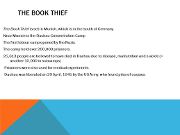 historical background ppt video online  19 the book thief