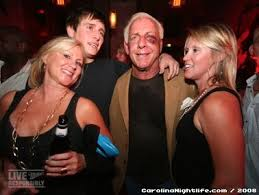 Photo of Ric Flair & his  Daughter  Megan Fliehr