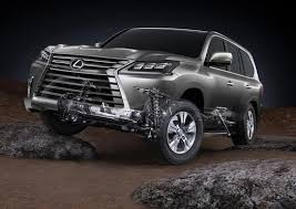 making a classic entrance lexus debuts refreshed lx  2016 2017 lexus lx 570 012