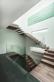 Interior:Architectural Front Stairs With Creative And Unique Design Luxury  Wooden Staircase Architecture With Glass