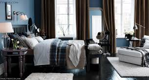 Modern Blue Bedrooms Bedroom Astonishing Modern Blue And Black Bedroom Decoration