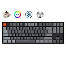 Keychron K8 C Bluetooth Không Dây Bàn Phím Cơ Gateron Công Tắc Đèn Nền RGB  Khung Nhôm Cho Mac|Keyboards