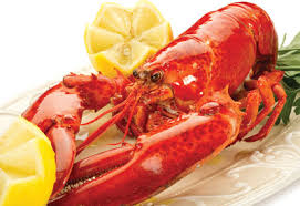 cooked lobsters. Exellent Lobsters Lobster Preparation Steamed Or Boiled With Lemon Parsley Butter Intended Cooked Lobsters O