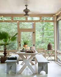 screened porch furniture. Screened Porch As An Outdoor Dining Room Furniture 4