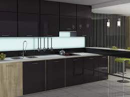 Küchenschränke Glas Glas Küchenschrank Türen moderne Küche cabinets