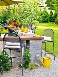 concrete block furniture ideas. Patio Ideas: Cinder Block Furniture Concrete Ideas Tremendous Bar