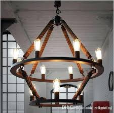 hanging lighting fixtures for home. Loft Hanging Lights Vintage Rope Light Double Layers Iron Lamp Fixtures Industrial Style Hotel Pub Decoration Lighting Home Fixture Nautical For