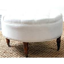 circular leather ottoman circle tufted ottoman round leather purple transitional footstools circular brown leather ottoman