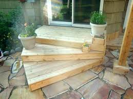 outside wood stairs wood patio stairs patio steps wooden patio steps ideas pertaining to design 9