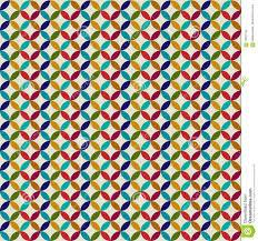 Circle Tiles Moroccan Abstract Circle Tiles Stock Illustration Image 70837735