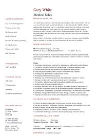 medical sales cv hashdoc