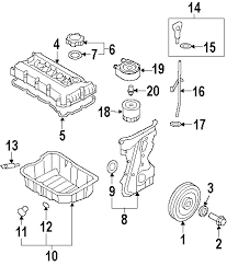 parts com® hyundai cooler assy eng oil partnumber 264102g000 2013 hyundai tucson gl l4 2 0 liter gas engine parts