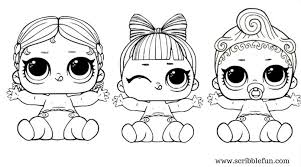 Lol Surprise Dolls Coloring Pages V R Q T Doll Series 3 Page Best