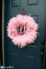 valentine wreaths for your front doorDIY Valentine Wreath to add Glamor to your Front Door  Magic Brush