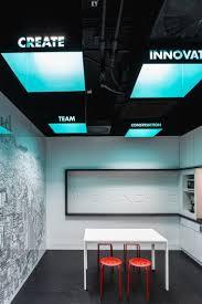 Lavoro Design Falso Soffitto Dal Design Moderno Quattro Spazi Di Lavoro E