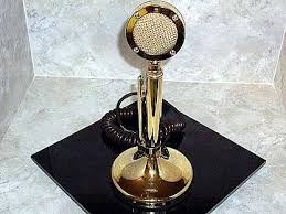 astatic d104 brand new golden eagle microphone 1976 brand new powered astatic d104 bi centennial golden eagle microphone