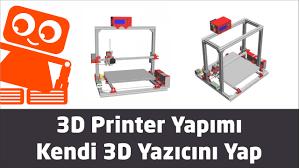 3D Printer Yapımı - 553TL'ye Kendi 3D Yazıcını Yap