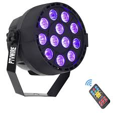 Black Light With Remote Black Lights Ptvwire 12 Led Dj Lighting Black Light With