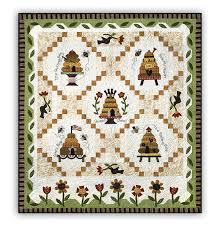 Honey Bee Lane Complete Quilt by The Quilt Company & Other products and companies referred to herein are trademarked or  registered trademarks of their respective companies or mark holders. Adamdwight.com