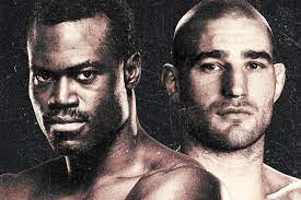 UFC Fight Night   Hall vs Strickland