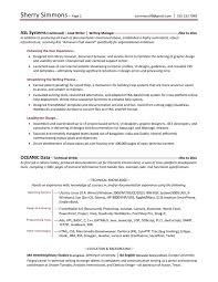 Tech writing resume examples
