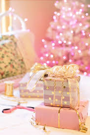 HD wallpaper: christmas, pink, presents ...