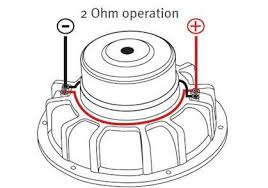 2 ohm wiring 2 image wiring diagram subwoofer wiring diagram dual 2 ohm subwoofer auto wiring on 2 ohm wiring