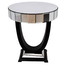 ... Coffee Table, Appealing Black And Grey Round Classic Art Deco Coffee  Table Idea To Complete ...
