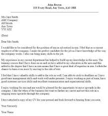cover letter for a promotion resume for internal promotion new sample cover letter relocation