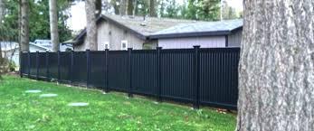 black vinyl fences. Delighful Vinyl Black Vinyl Fence 4 Ft High Panels Fences  Ideas With With Black Vinyl Fences C