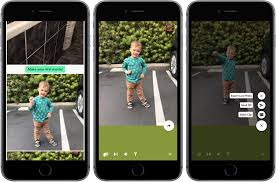 4 use the horizontal slider at the bottom to advance through each captured frame then tap the green round checkmark on to save the live photo with the